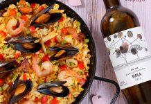 Paella a tenger gyümölcseivel